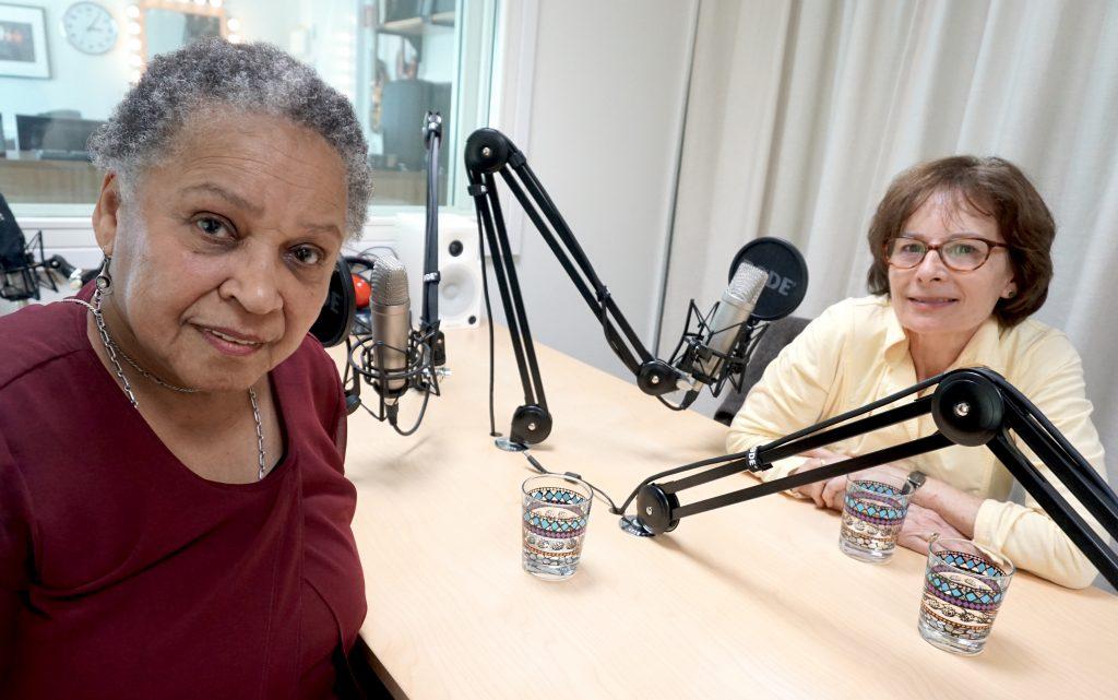 Gloria Ray Karlmark och Michele Micheletti